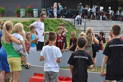 Panna event AC Milan Junior Camp